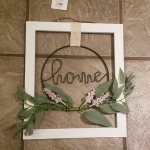 Brand new home sign